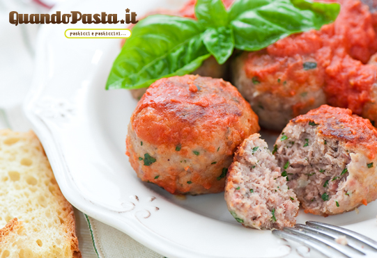 polpette con il sugo
