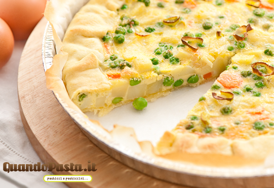 quiche di verdure