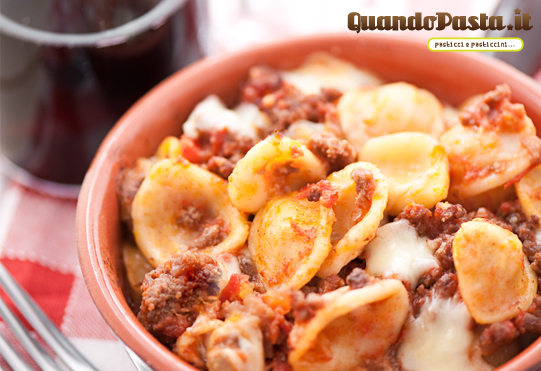 pasta orecchiette forno