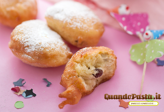 Frittelle fritole di Carnevale