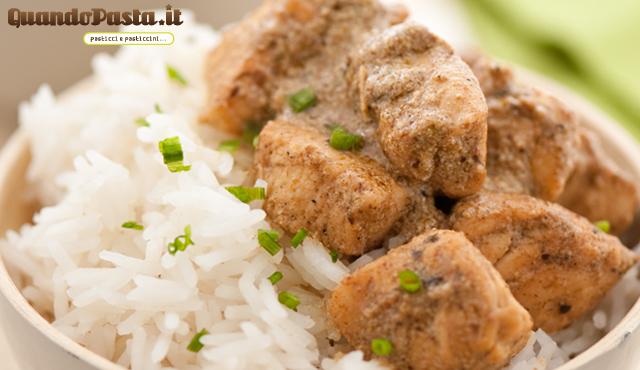 pollo al curry e limone