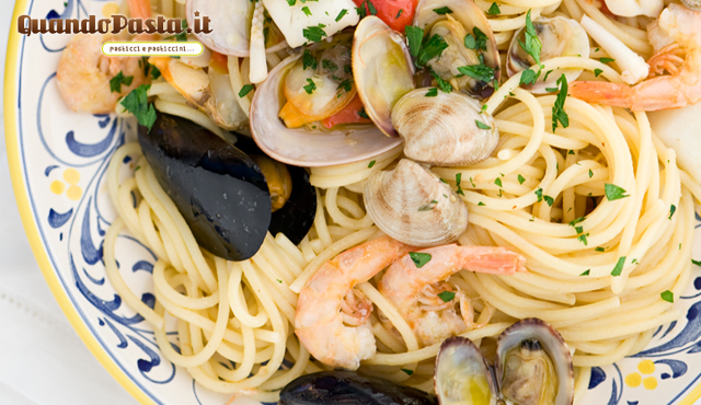Spaghetti allo scoglio