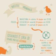 ricette mondiali 2014