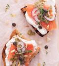 crostini di salmone e robiola